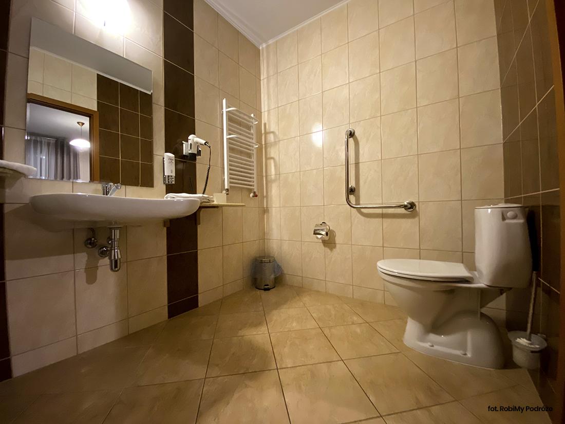 łazienka whotelu