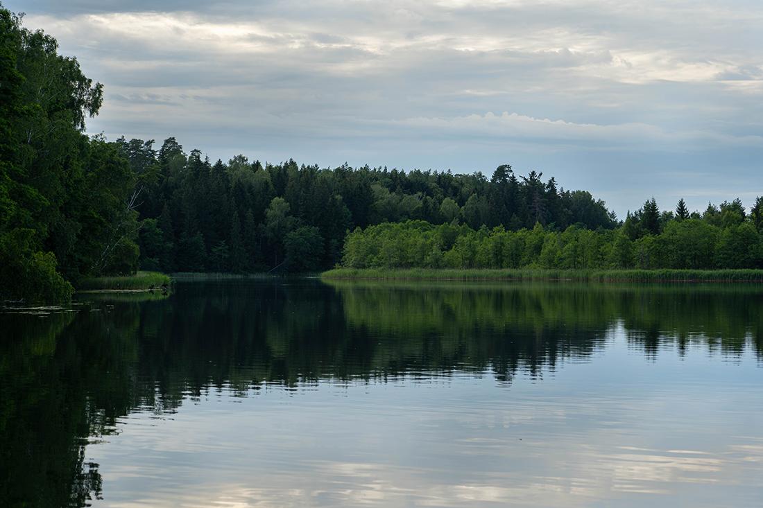 Jezioro Wigry jedna zatrakcji Suwalszczyzny