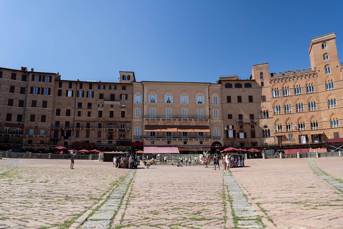 Piazza del Campo - atrakcje Sieny