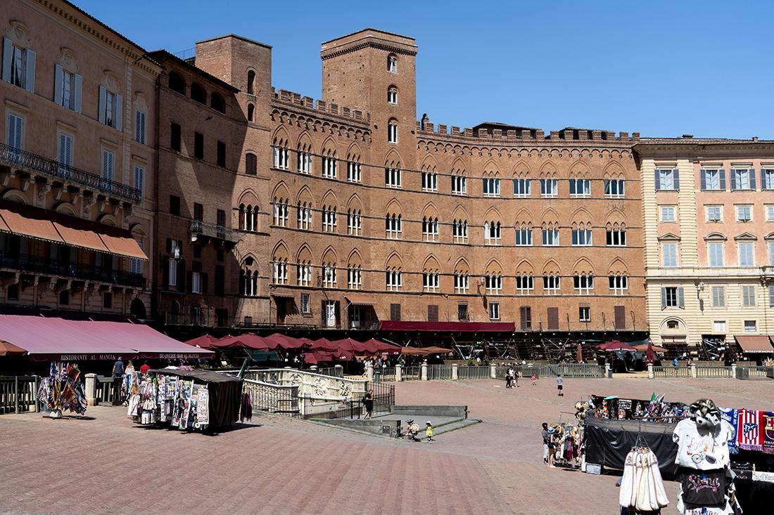 Piazza del Campo wSienie