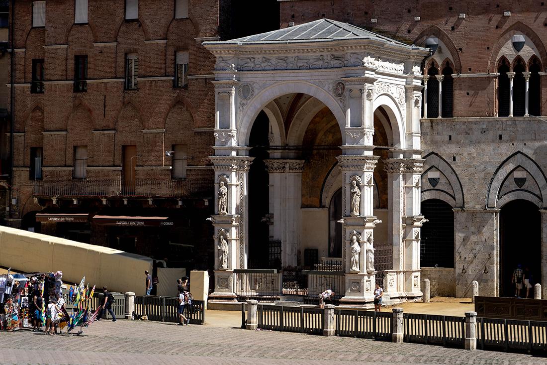 dzień wSienie ijej atrakcje - Capella di Piazza