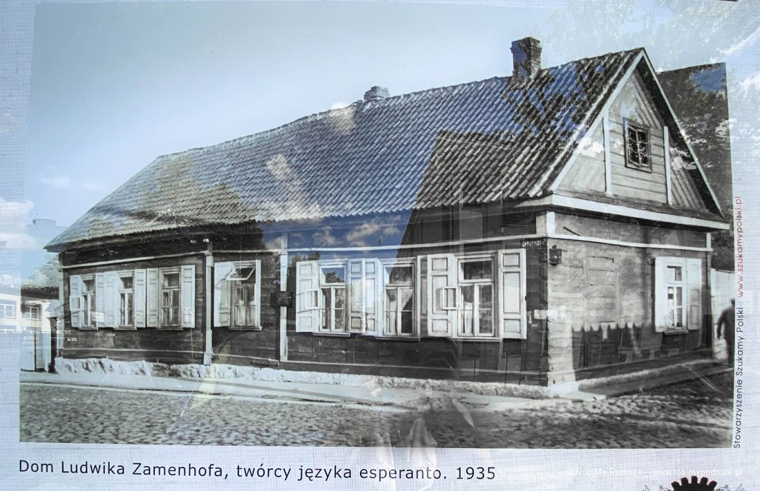 Dom Ludwika Zamenhofa - rycina