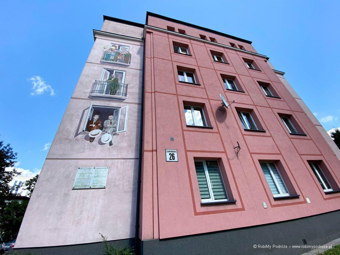 Dom Zamenhofa - mural