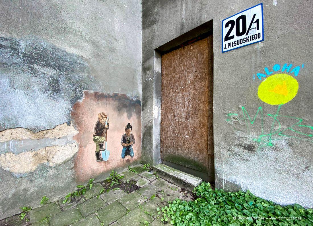 Murale warto zobaczyć wBiałymstoku