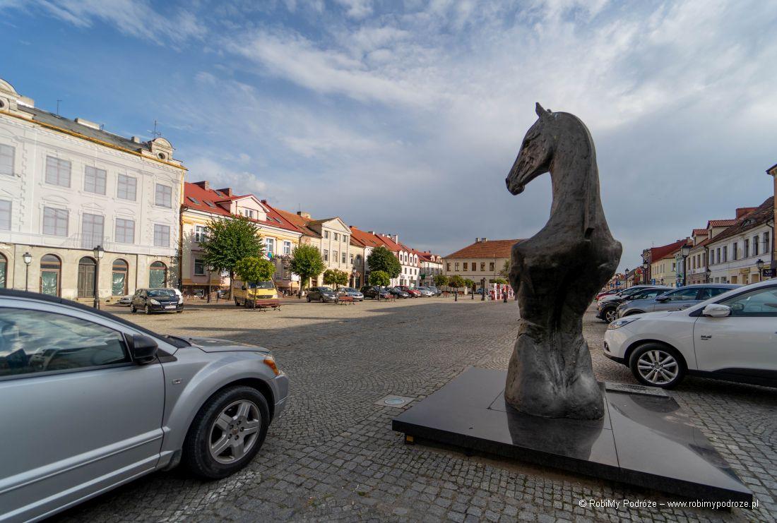 Plac Wolności irzeźba konia