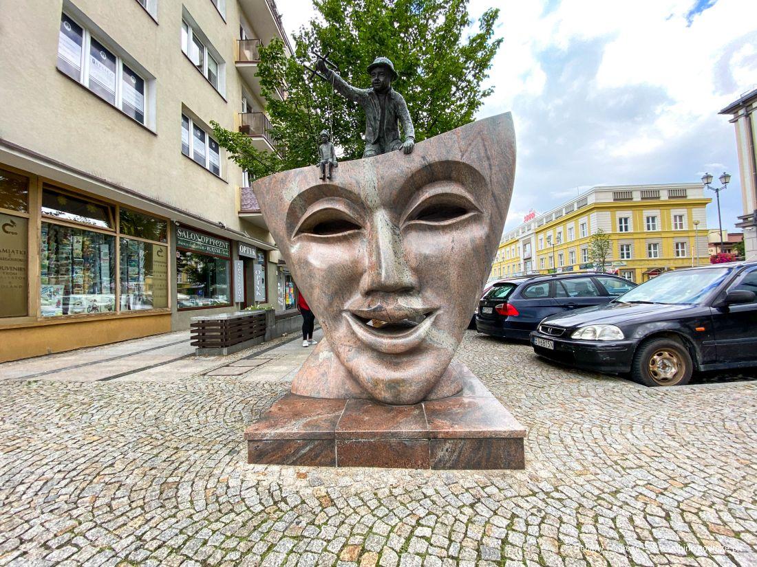 Pomnik Teatralna Maska
