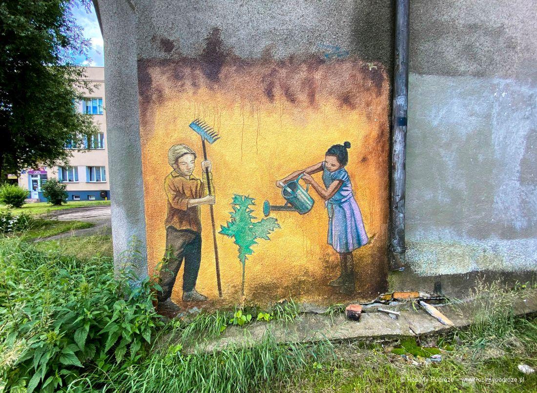 Seria murali otolerancji wBiałymstoku