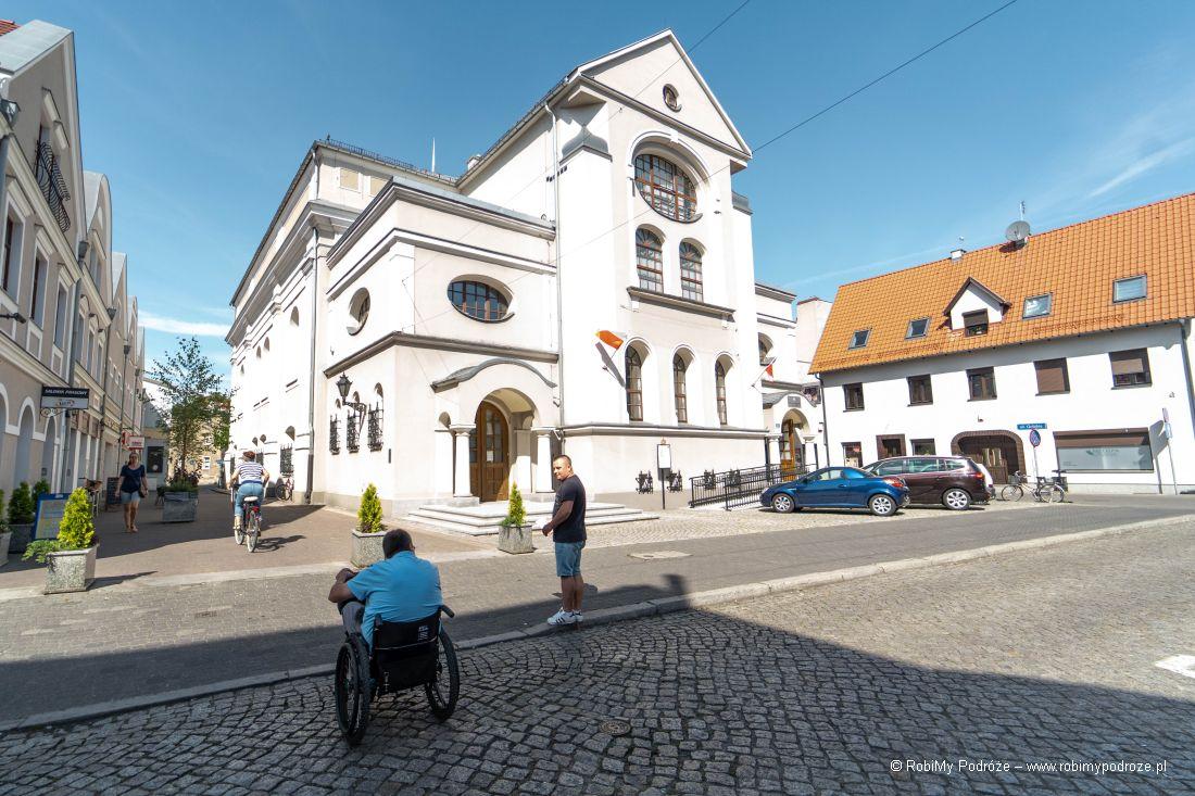 dawna synagoga wLesznie