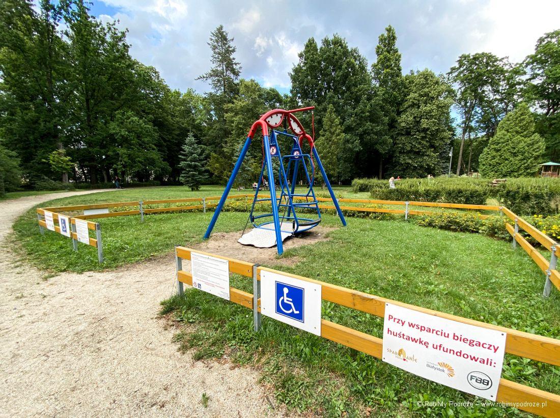 huśtawka dla niepełnosprawnych - dostosowany Białystok