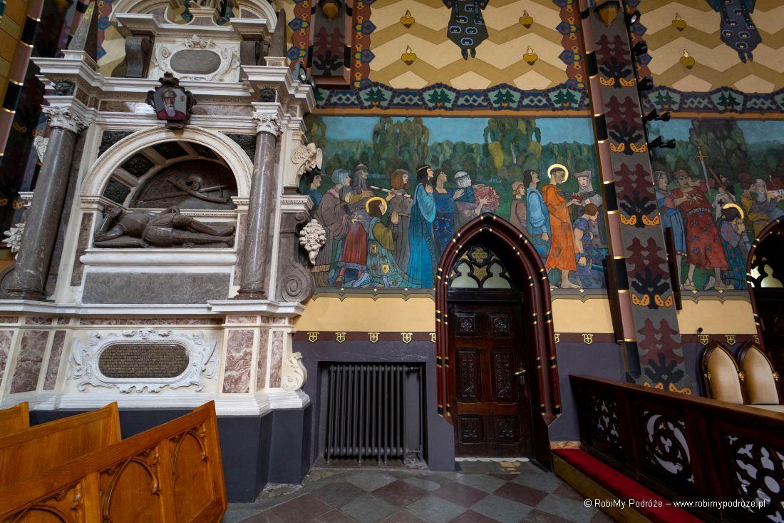 malowidła Eligiusza Niewiadomskiego wkościele św Bartłomieja wKoninie