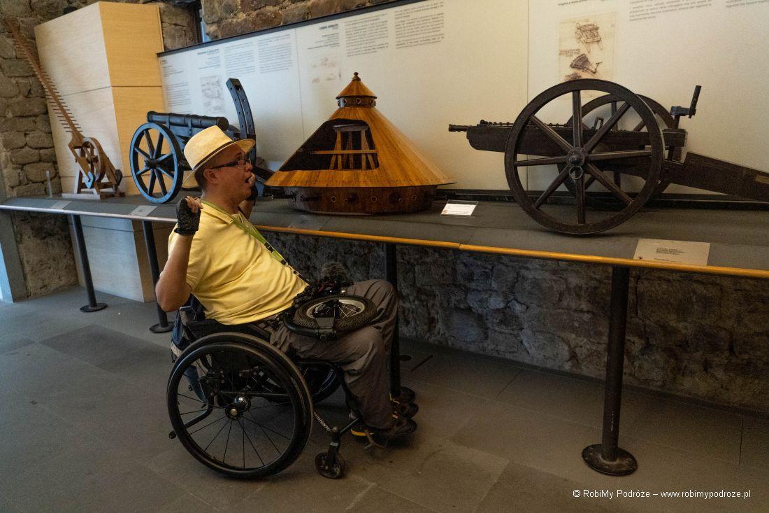 maszyny strzelnicze Leonardo da Vinci