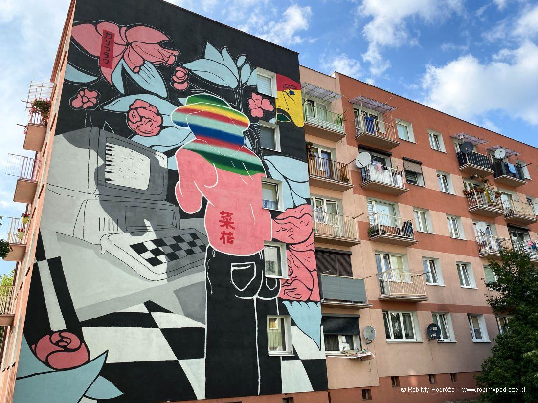 mural wJarocinie
