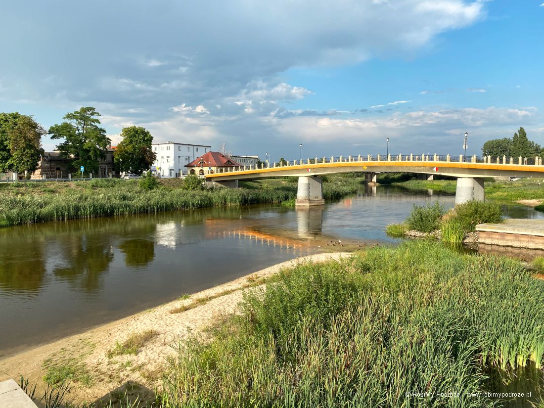 rzeka Warta imost Toruński