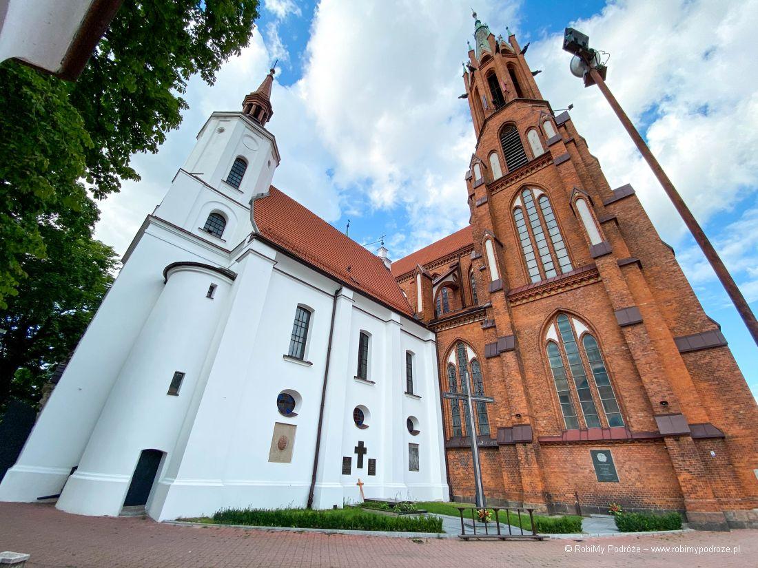 stary kościół farny wBiałymstoku