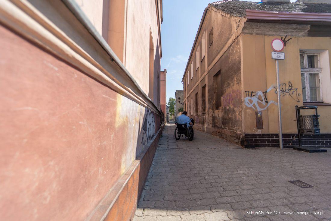 ulica Wąska wLesznie