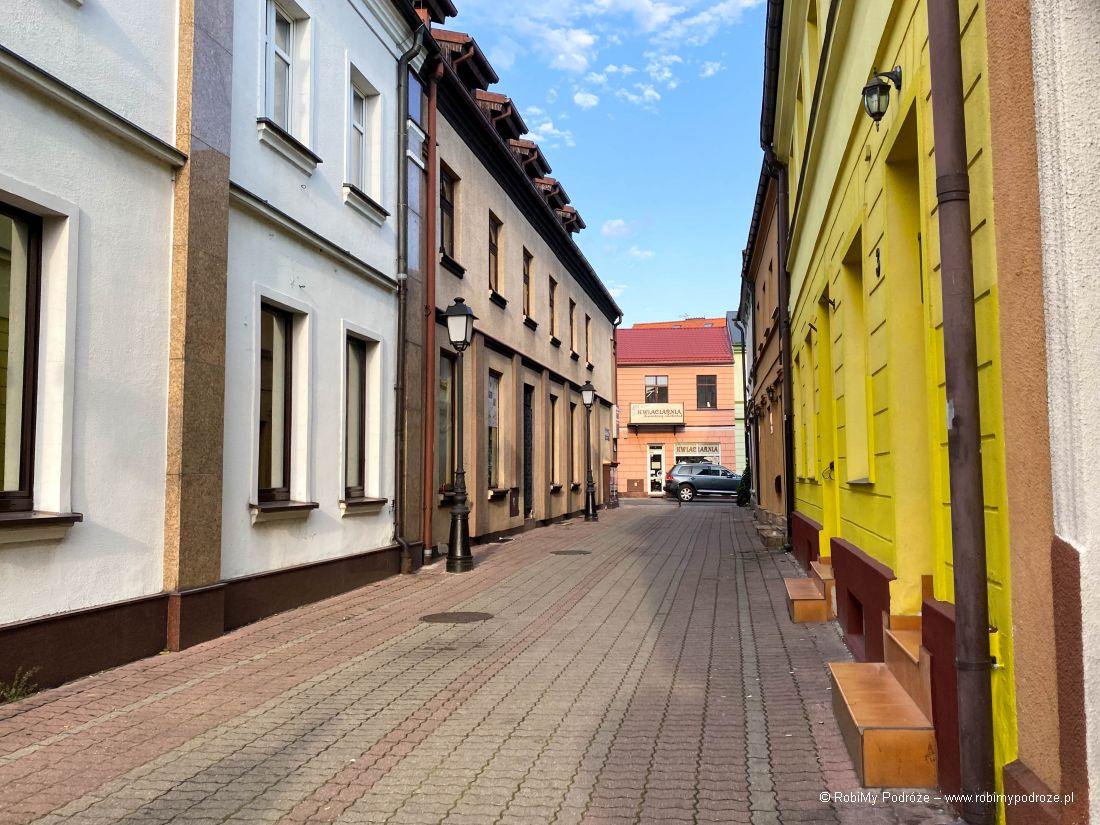 uliczki Konina