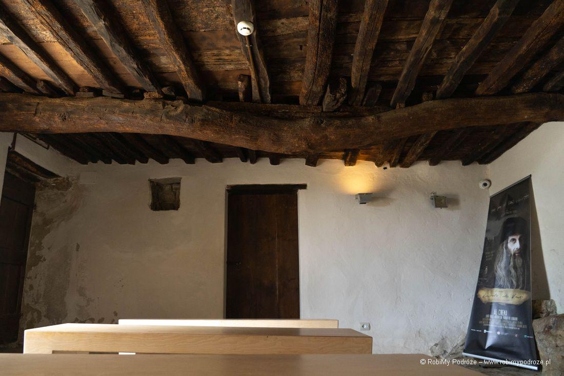 wnętrza domu wAnchiano wToskanii