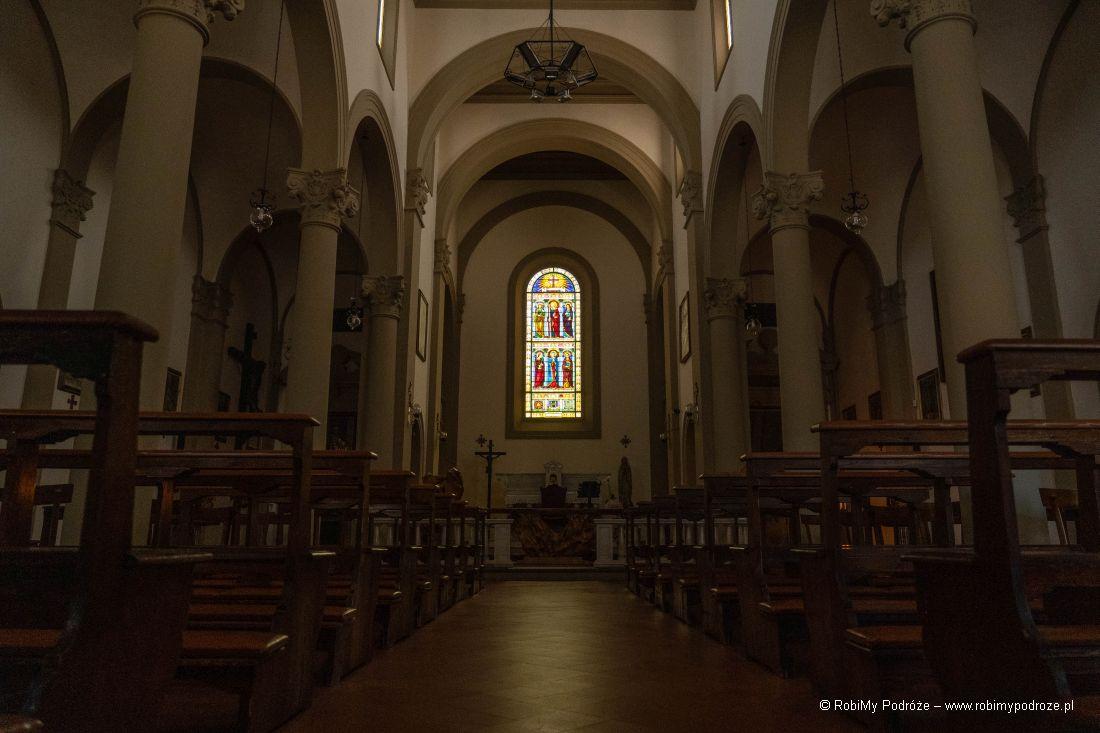 wnętrze Santa Croce