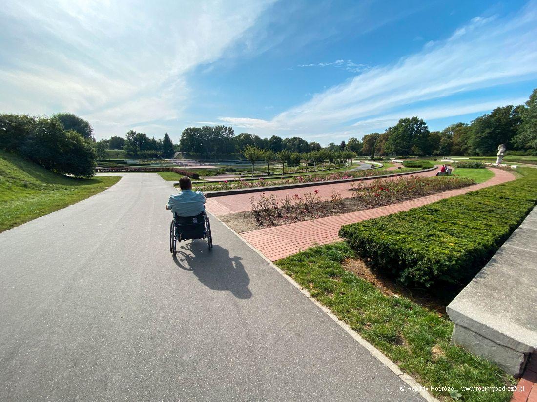 Park Cytadela dla niepełnosprawnych