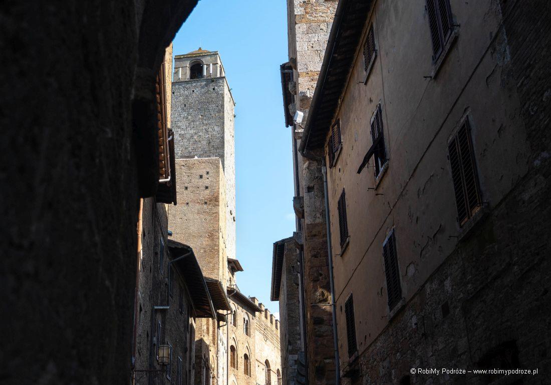 wieże San Gimignano