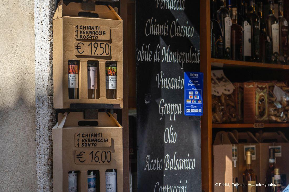 wino zSan Gimignano