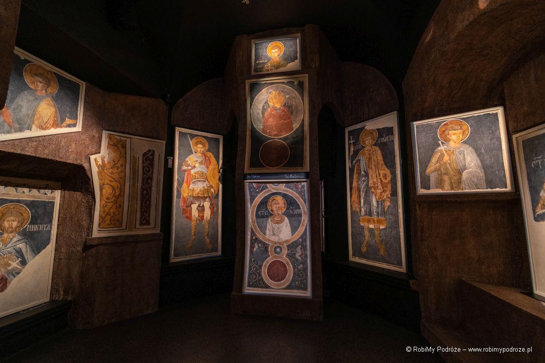 freski wmuzeum Ikon wSupraślu