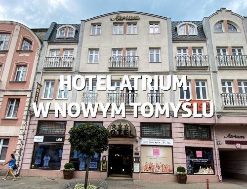 Hotel Atrium wNowym Tomyślu