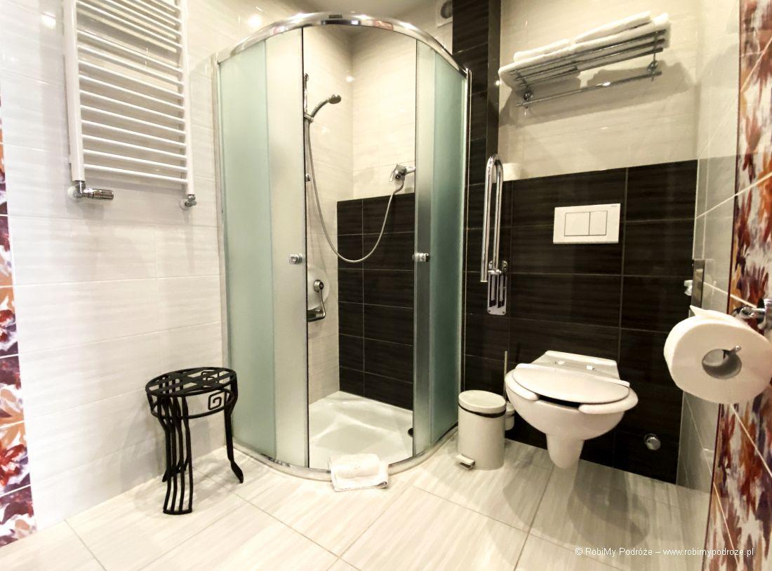 łazienka dla niepełnosprawnych hotel Atrium