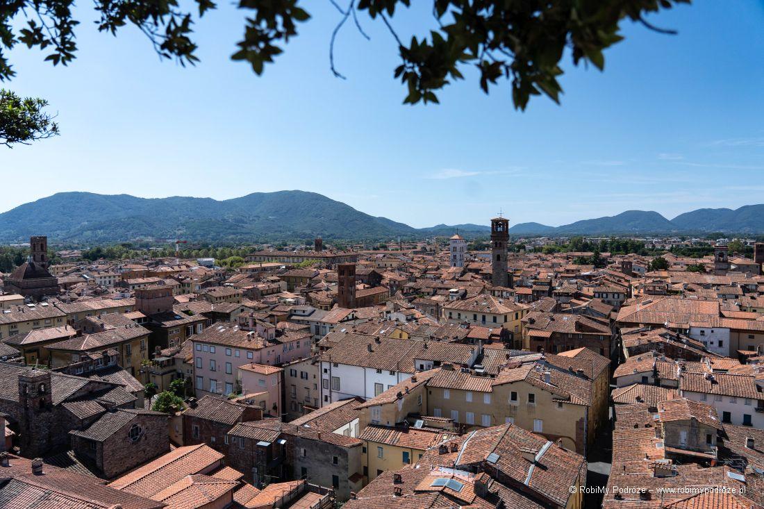 panorama zLukki zTorre Guinigi