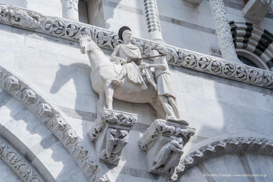 rzeźba św.Marcina