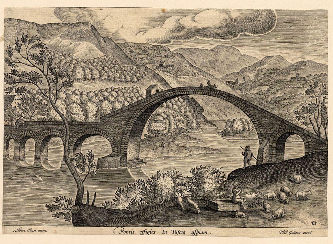 rycina mostu Diabelskiego
