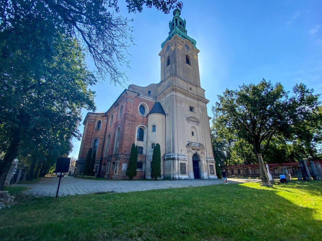Leszno - Kościół św.Krzyża