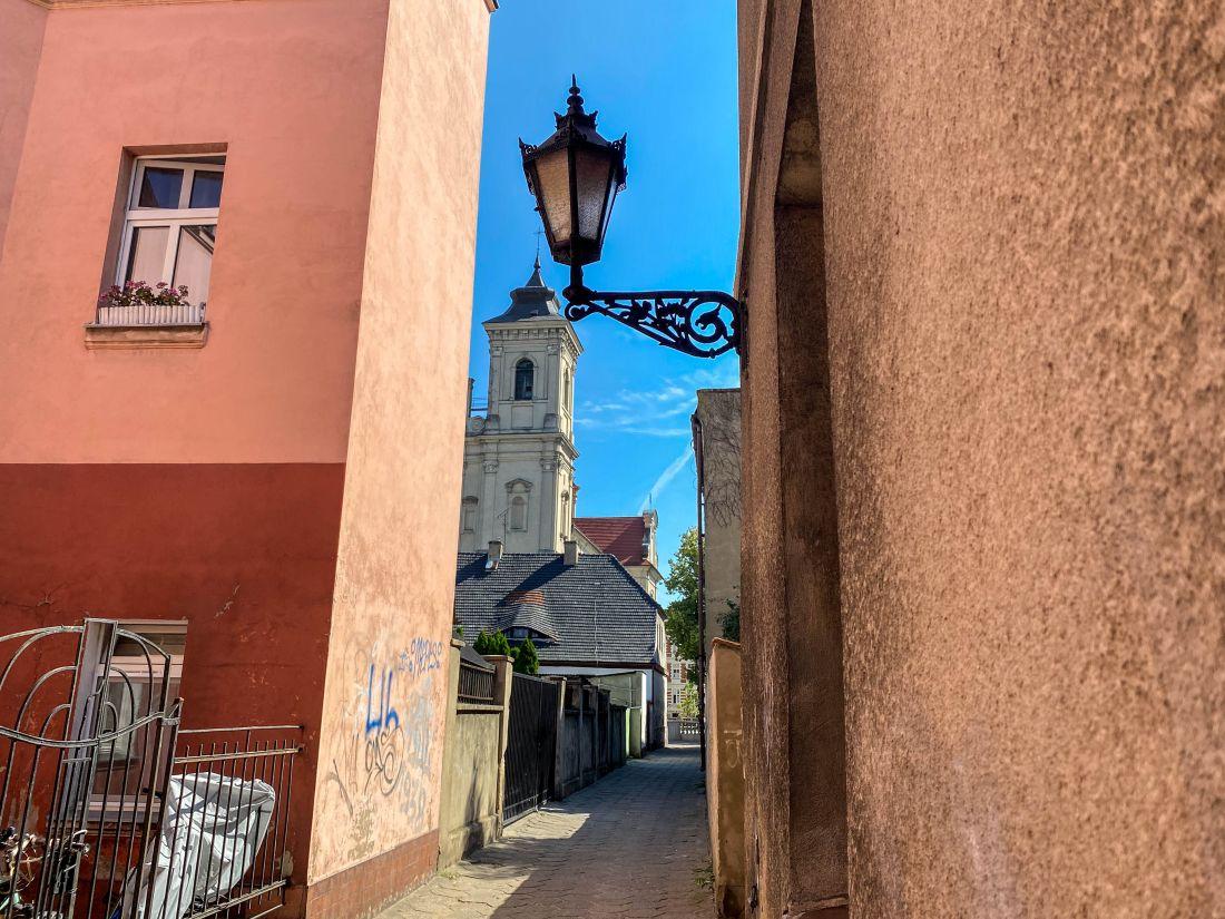 ulica Wąska - śladami Grochowiaka wLesznie