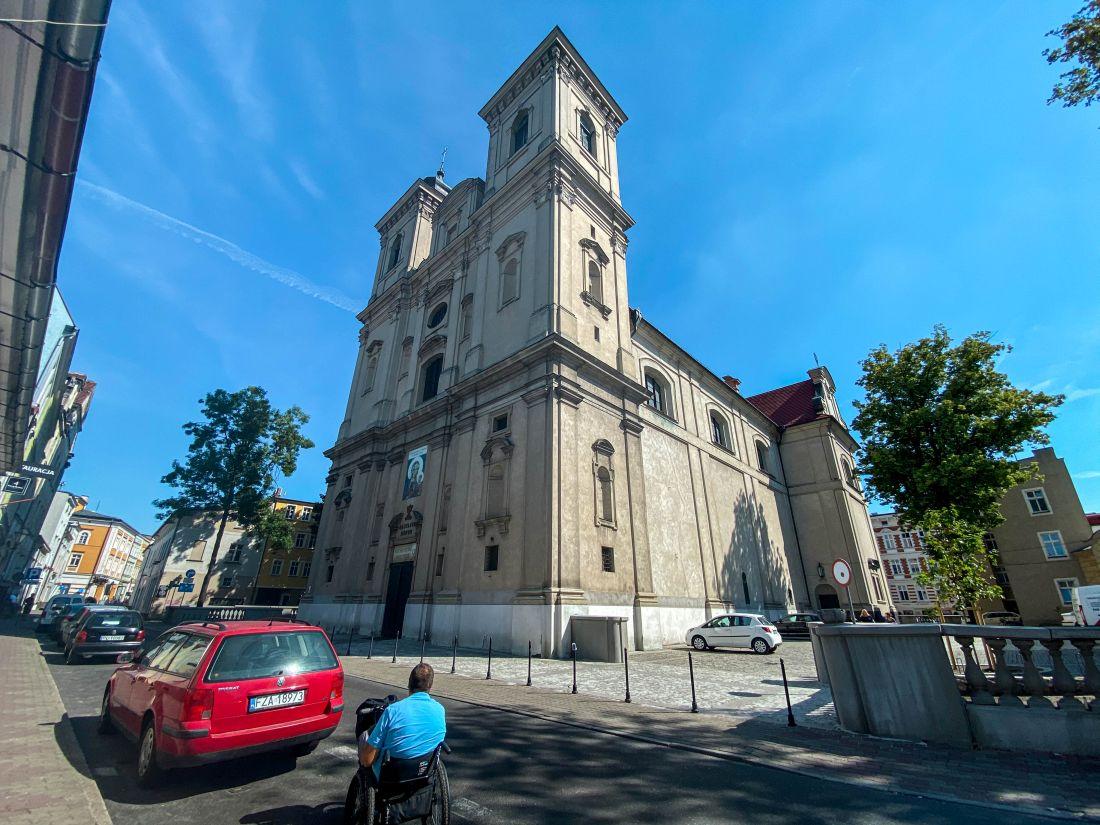 Kościół św.Mikołaja wLesznie obecnie