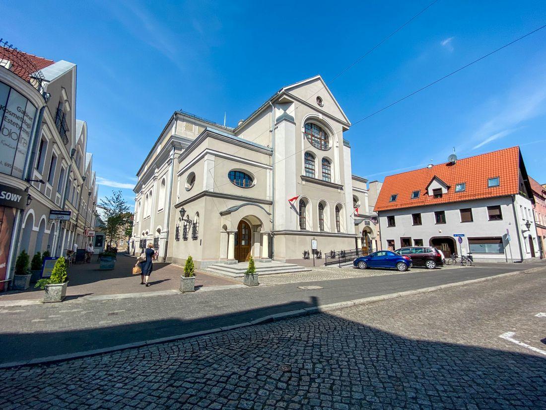Nowa Synagoga wLesznie