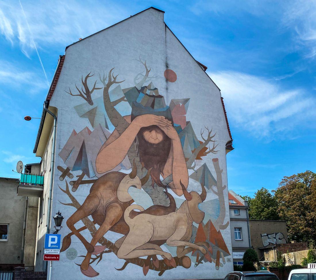 mural Wieniawa wLesznie