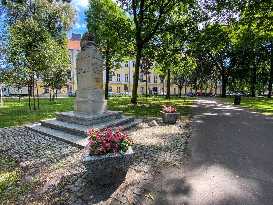 Plac Kościuszki wLesznie