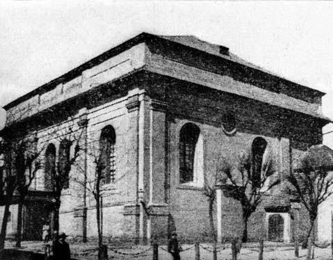 Synagoga przedprzebudową wLesznie - zdjęcie archiwalne - https://pl.wikipedia.org
