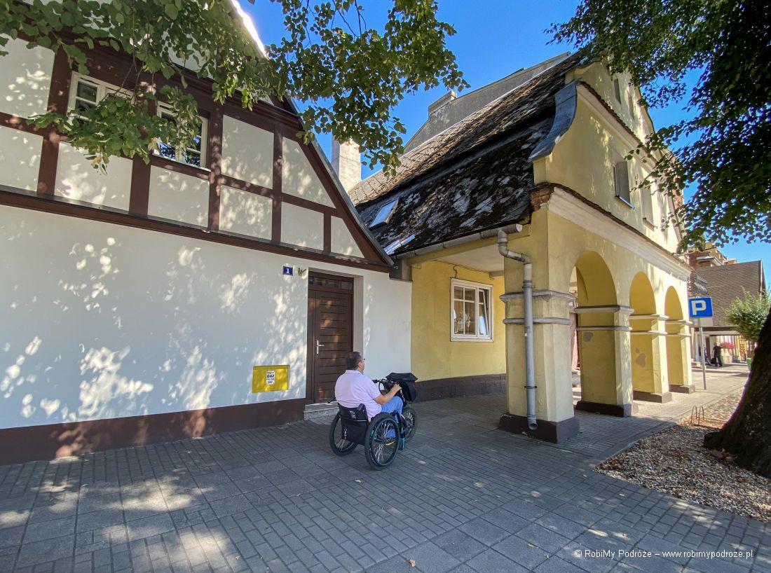 podcieniowy dom wRakoniewicach
