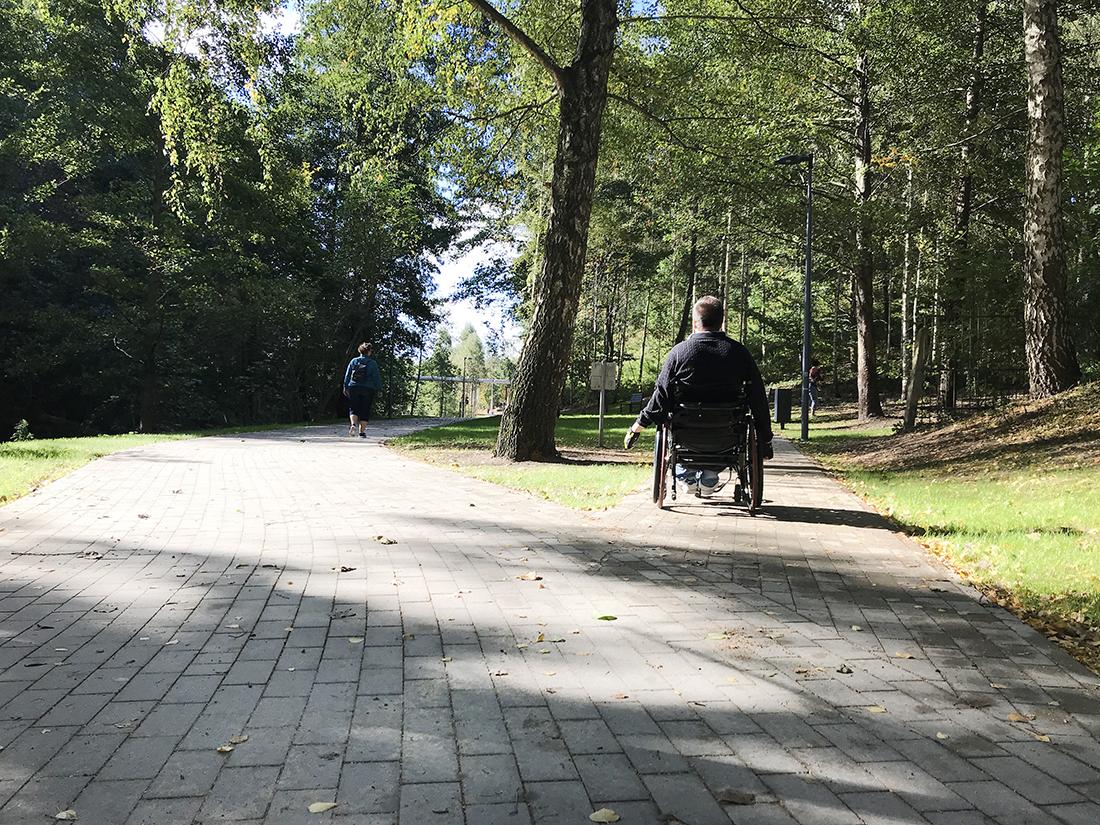 Łynostrada wOlsztynie ijej miejska część dla niepełnosprawnych