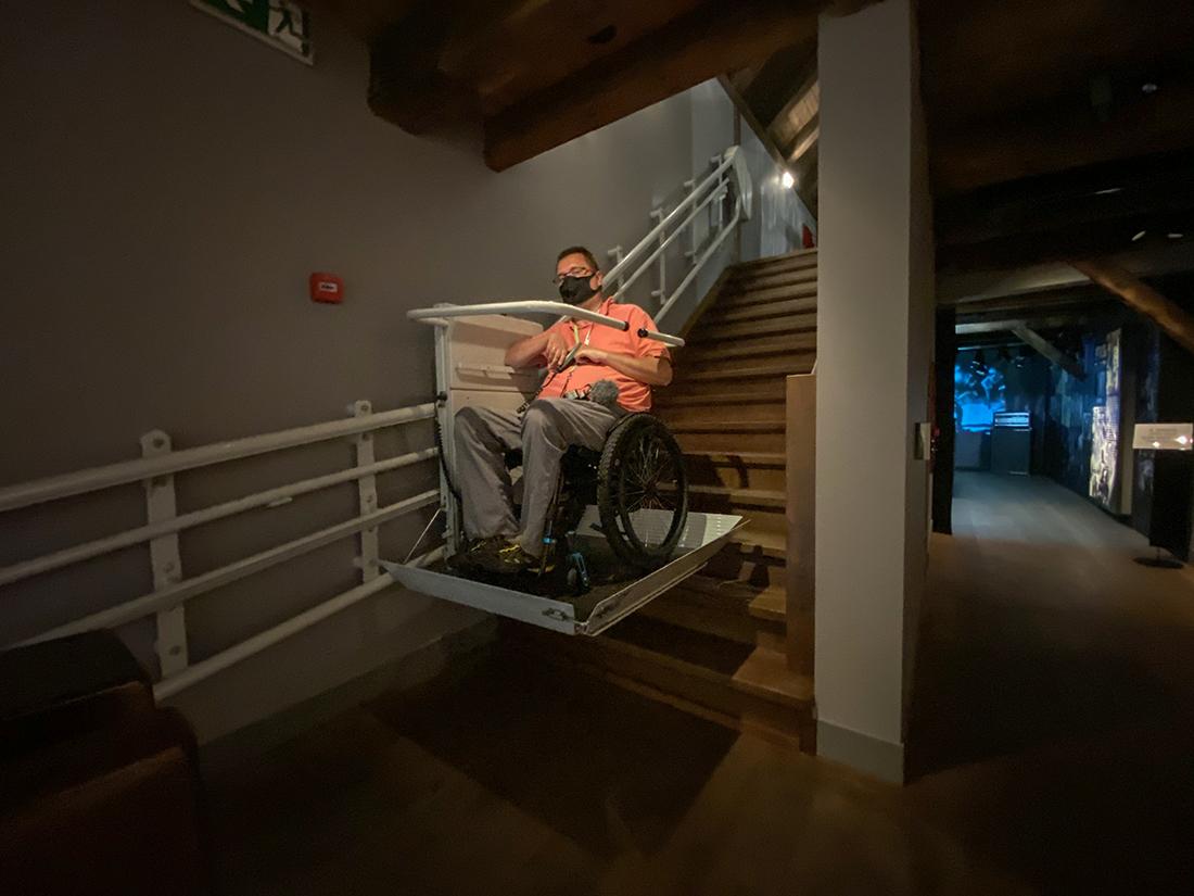 Spichlerz Polskiego Rocka wJarocinie dla niepełnosprawnych