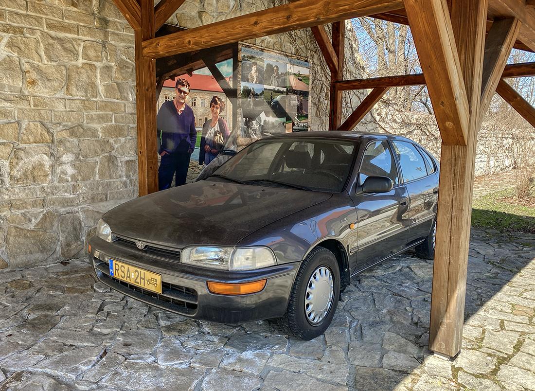 samochód Beksińskich