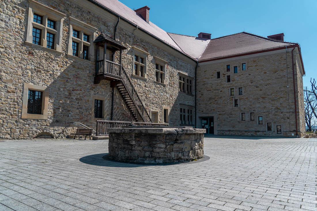 zamek wSanoku