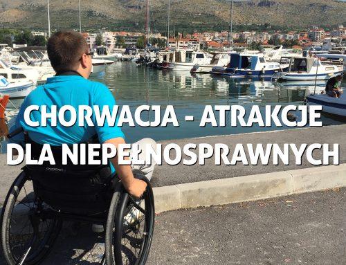 Chorwacja inajwiększe atrakcje dla niepełnosprawnych