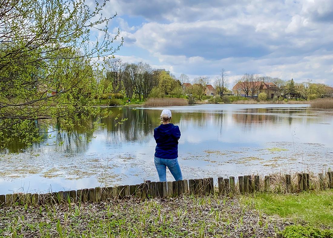 Jezioro Długie wOlsztynie
