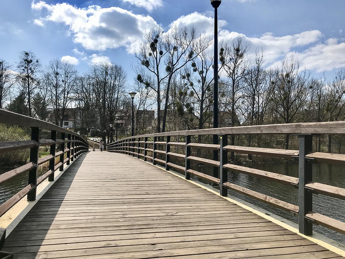 Most Zakochanych nadjeziorem Długim