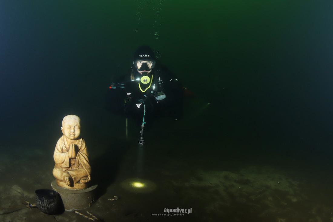 nurkowanie wOlsztynie podwodą jeziora Ukiel