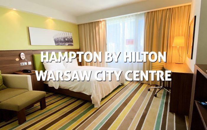 HAMPTON BYHILTON WARSAW CITY CENTRE DLA NIEPEŁNOSPRAWNYCH