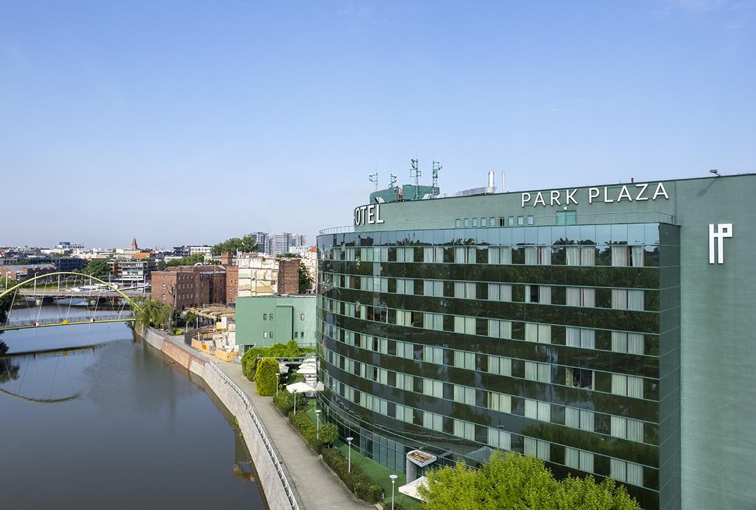 HOTEL HP PARK PLAZA WEWROCŁAWIU zgóry