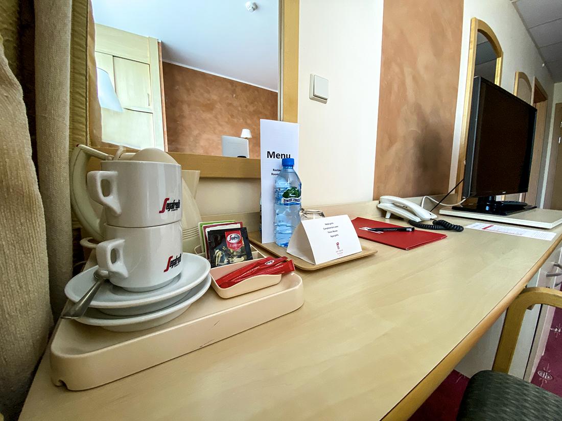 Hotel HP Park Plaza weWrocławiu wyposażenie